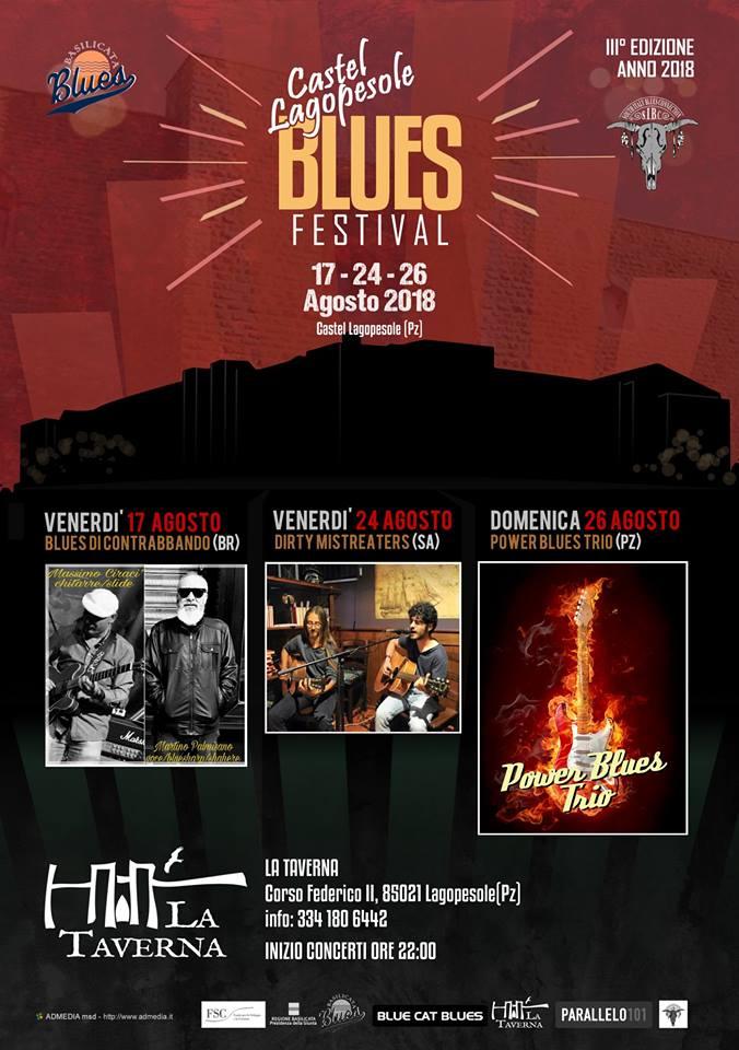 Castel Lagopesole Blues Festival - III° EDIZIONE - 2018